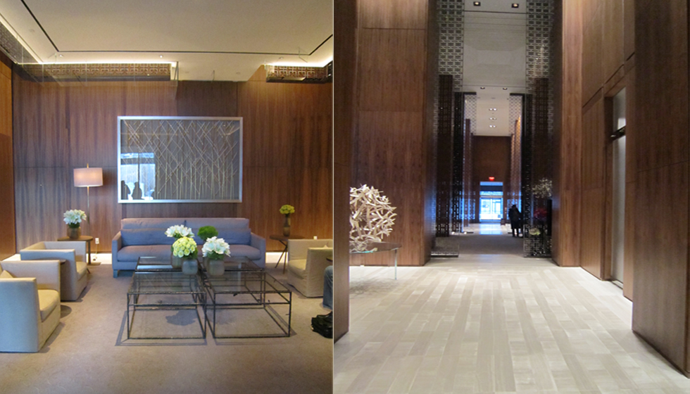 Simple residential lobby images for 4 seasons decoration