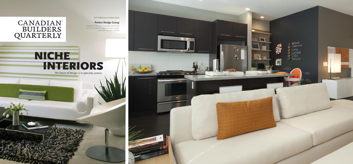 Interior design for homebuilders